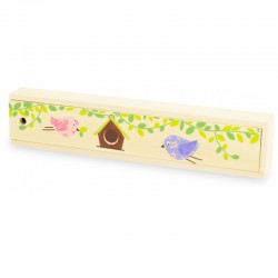 Boîte à crayons en bois
