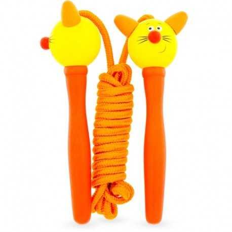 Corde à sauter chat pour enfant
