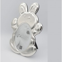 Cadre bébé pour photo format 9x13 décor lapin