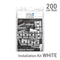 Jeu de montage pour cimaises Click Rail 200 cm