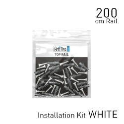 Fastener kit top rail 200 cm