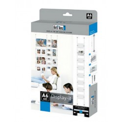 Box display it Economy A6, kit tout en un pour affiche vitrine