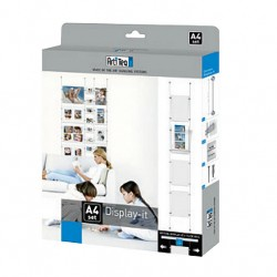 Box display it Economy A4, all in one kit for showcase display