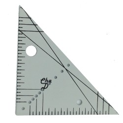 Gabarit équerre angle 90° et angle 45°