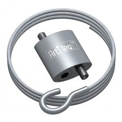 Loop Hanger, avec câble acier 200 cm à crochet