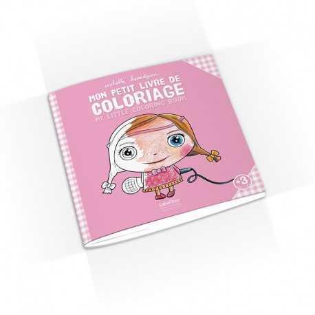 Cahier de coloriag, de dessin Fille