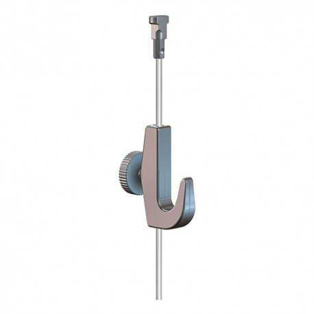 Twister Perlon wire 2 mm with hook 7 Kg for table suspension