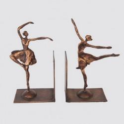 Serre-livres en forme de danseuses