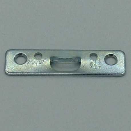 paquet d'attaches dentelées 2 trous avec vis pour dos de cadre