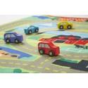 Tapis de jeu pour enfant, le tapis de route