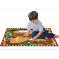 Tapis de jeu pour enfant, le tapis de chantier