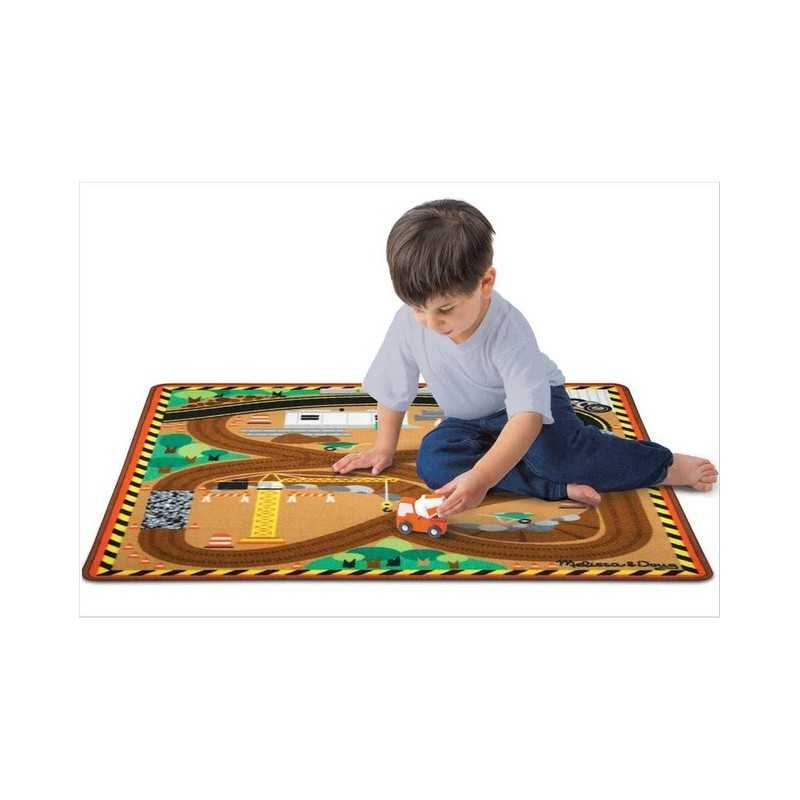 tapis de jeu pour enfant le tapis de chantier. Black Bedroom Furniture Sets. Home Design Ideas