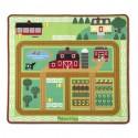 Tapis de jeu pour enfant, le tapis de la ferme et de la basse-cour