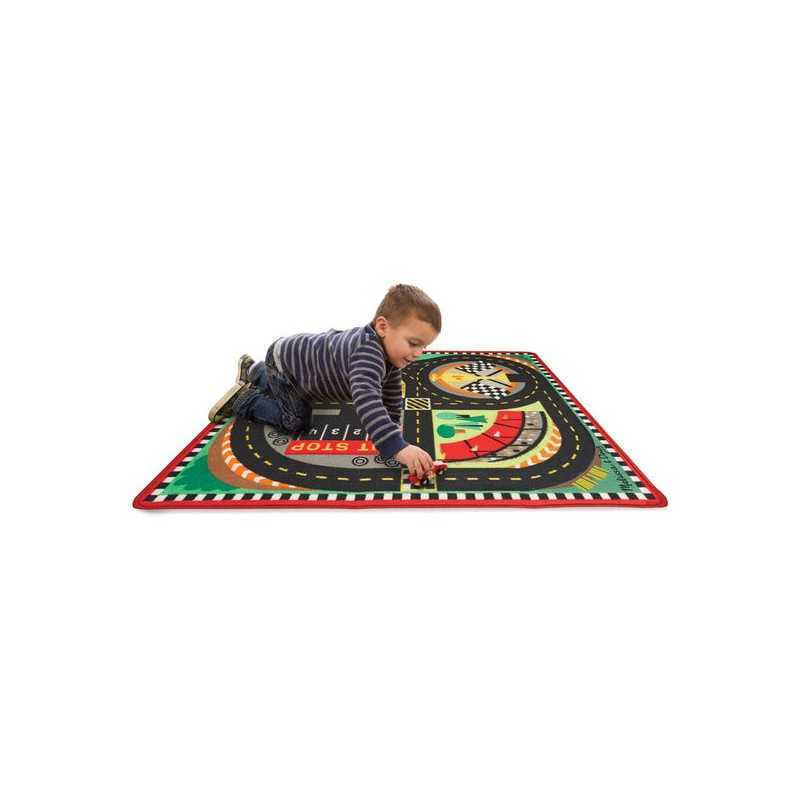 tapis de jeu pour enfant le tapis pour les voitures de course. Black Bedroom Furniture Sets. Home Design Ideas