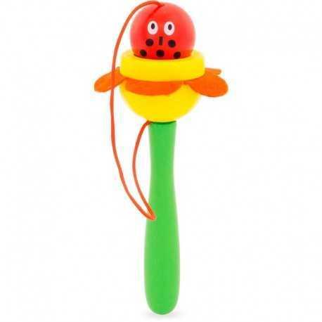 La coccinelle, Bilboquet enfant, jouet pour enfant