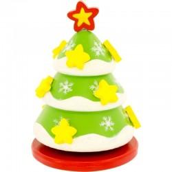 Boîte à musique sapin de Noël