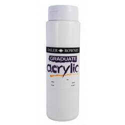 "Tube de 120 ml de peinture acrylique ""Gaduate acrylic"""
