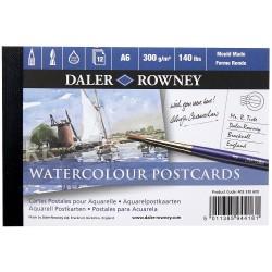 Carnet de dessin 12 feuilles cartes postales A6