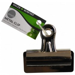 Drawing clip, metal clip