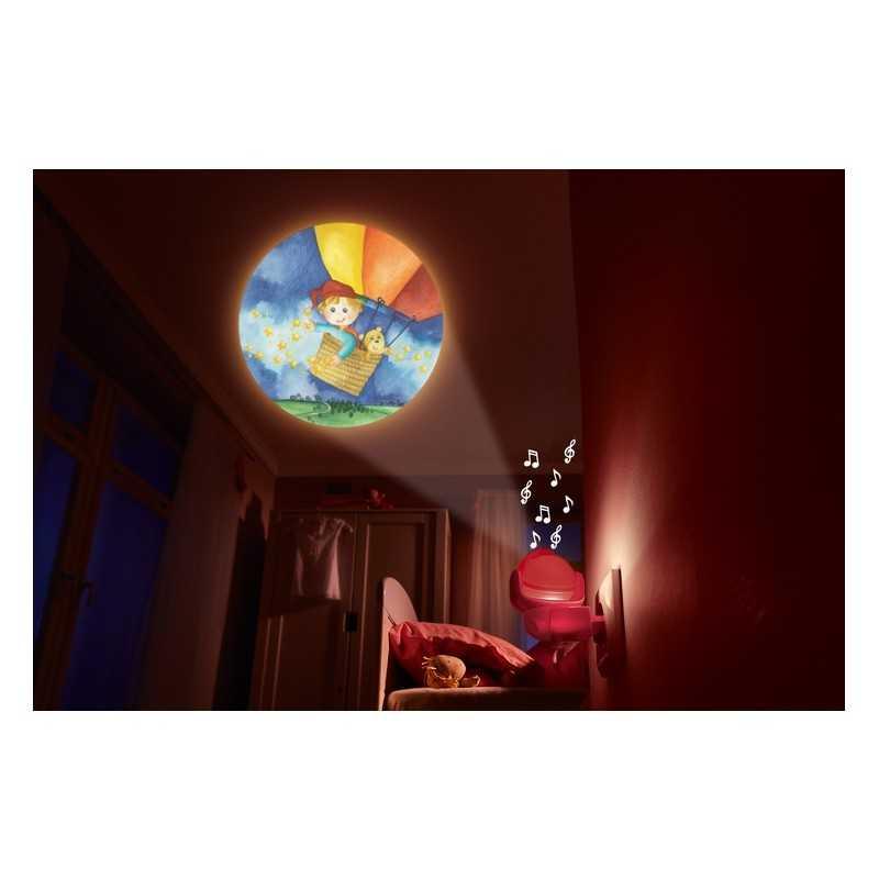 lampe veilleuse musicale pour enfant. Black Bedroom Furniture Sets. Home Design Ideas