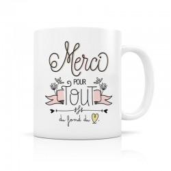 Mug, Merci pour tout