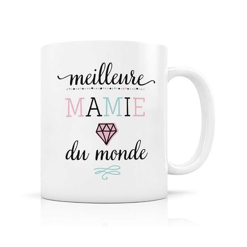 mug meilleure mamie du monde. Black Bedroom Furniture Sets. Home Design Ideas
