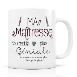 Mug, Ma Maîtresse c'est la plus Géniale