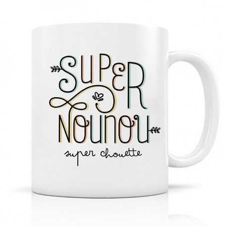 Mug, Super Nounou, super chouette