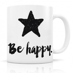 Mug, Be Happy