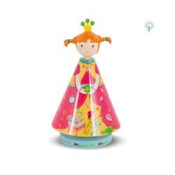 Les Lampes Lucioles, veilleuse pour enfant, la princesse aux Petits Pois