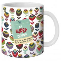 Mug Ma super copine de Puce & Nino by Puce & Nino