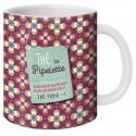 Mug, Thé la pipelette by Puce & Nino