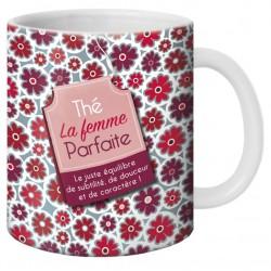 Mug, Thé la femme parfaite by Puce & Nino