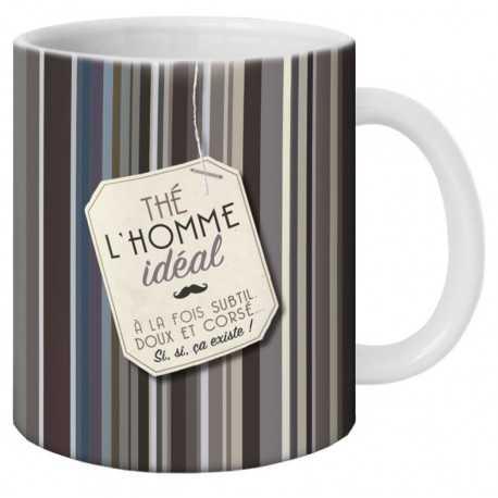Mug, Thé l'Homme idéal by Puce & Nino