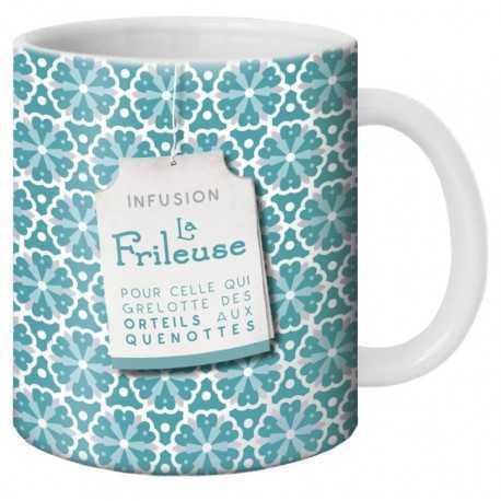Mug, Thé la Frileuse by Puce & Nino