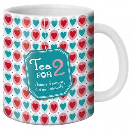 Mug, Tea for 2 by Puce & Nino