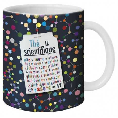 Mug, Thé le Scientifique by Puce & Nino