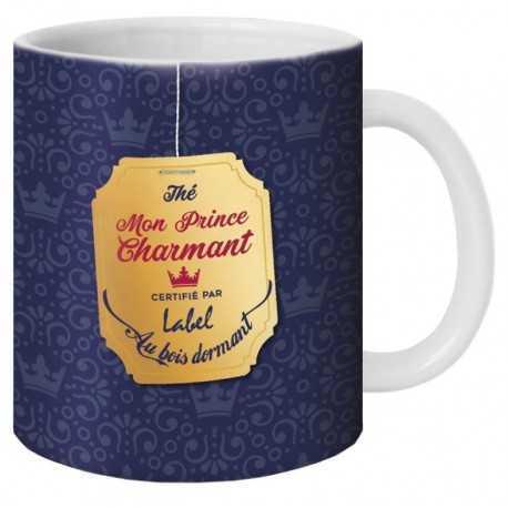 """Mug, Thé """"Mon Prince charmant"""" by Puce & Nino"""