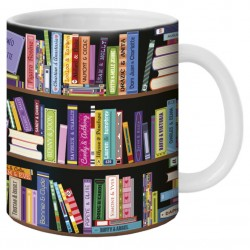 "Mug, ""Livres"" by Lali & MG"