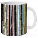 """Mug, """"Les jaquettes de vinyles"""" by Lali & MG"""