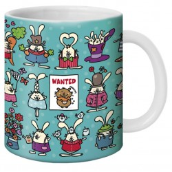 "Mug, ""Wanted"" by Lali"
