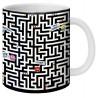"""Mug, """"Labyrinthe"""" by Lali"""