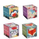 4 Puzzles of 24 Mini Children's Pieces