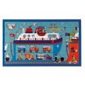 Puzzle ferry, bateau 60 pièces