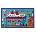 Puzzle ferry, boat 60 pieces