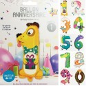 Birthday balloon for child