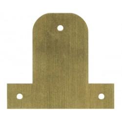 Plaquette de fixation pour châssis, cadre, tableau