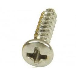 100 vis à tête plate cruciforme 12,7 mm 3,3 mm de diamètre