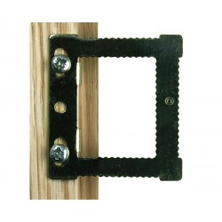 Fasteners for frame without canvas