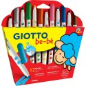 12 markers for the little ones